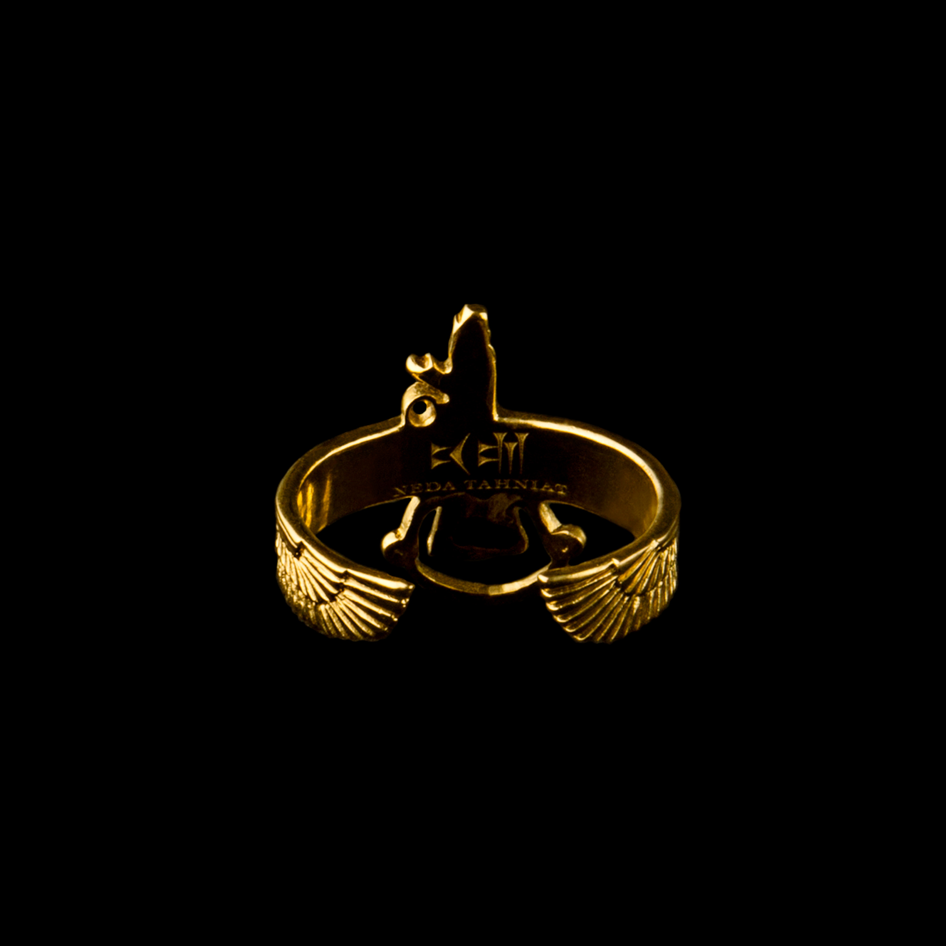 Gold Silver Ring Image