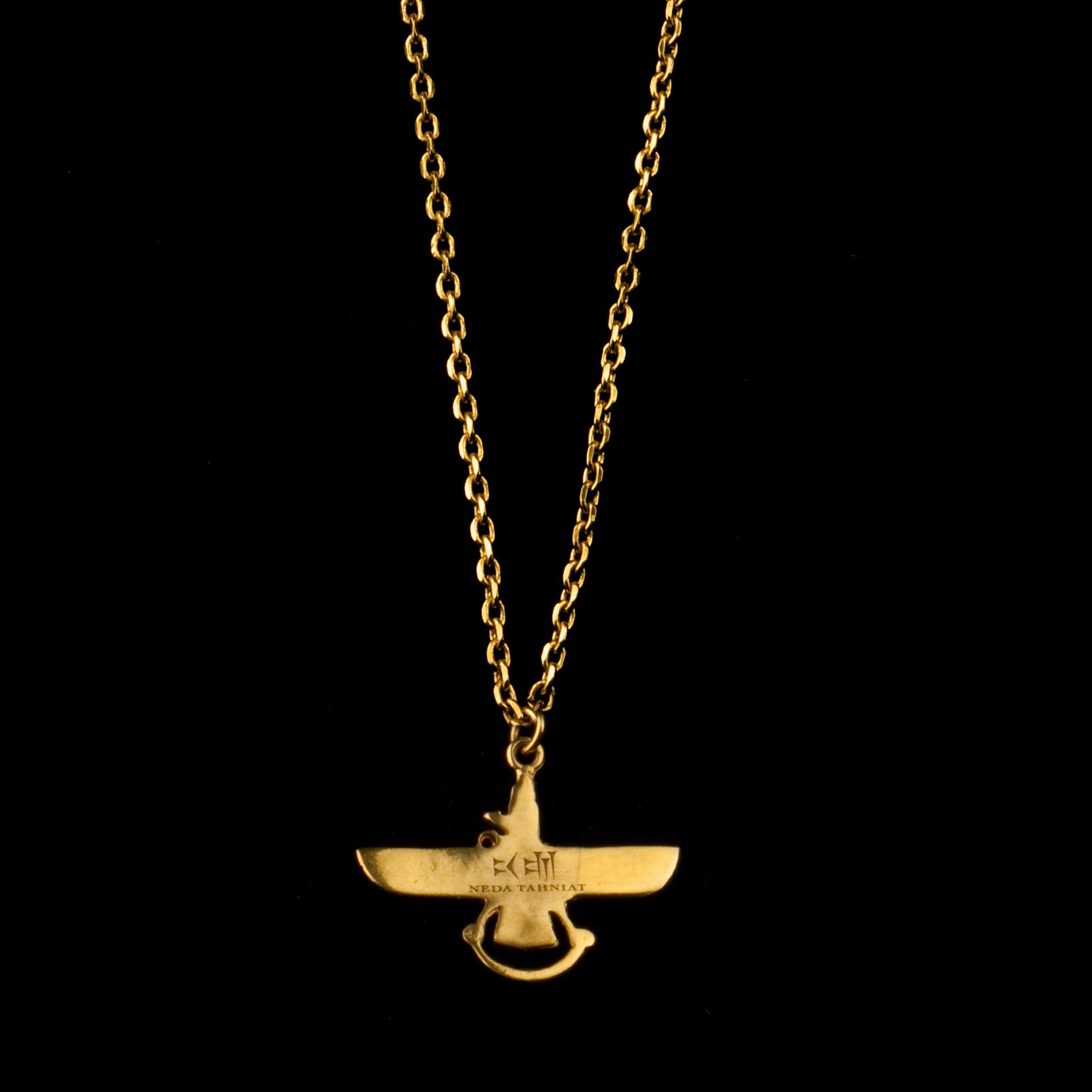 neda tahniat 187 farvahar necklace